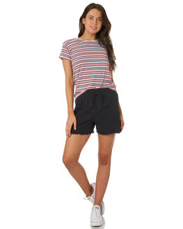 RED STRIPE WOMENS CLOTHING SILENT THEORY TEES - 6085039RED