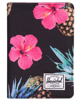 BLACK PINEAPPLE WOMENS ACCESSORIES HERSCHEL SUPPLY CO PURSES + WALLETS - 10373-01852-OSPINE