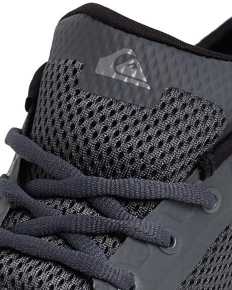GREY/GREY/BLUE MENS FOOTWEAR QUIKSILVER SNEAKERS - AQYS700049-XSSB