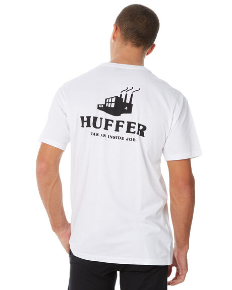 WHITE MENS CLOTHING HUFFER TEES - MTE82S220598WHT
