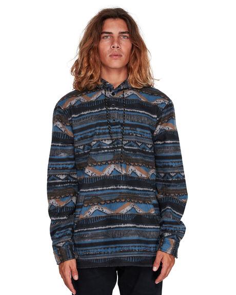 NAVY MENS CLOTHING BILLABONG SHIRTS - BB-9507211-NVY