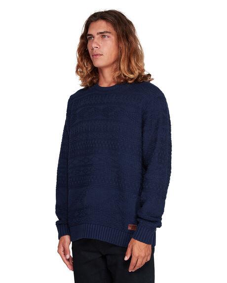 DARK BLUE MENS CLOTHING BILLABONG KNITS + CARDIGANS - BB-9507803-B69