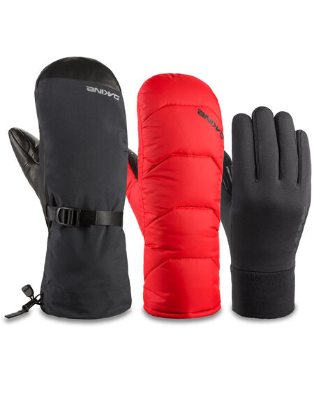 BLACK BOARDSPORTS SNOW DAKINE GLOVES - DK-10002008-BLK