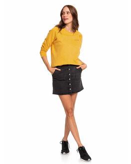 ANTHRACITE WOMENS CLOTHING ROXY SKIRTS - ERJDK03013-KVJ0