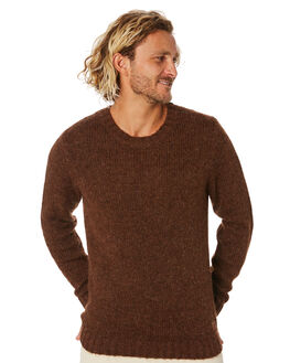TORTOISE SHELL MENS CLOTHING RUSTY KNITS + CARDIGANS - CKM0348TOR