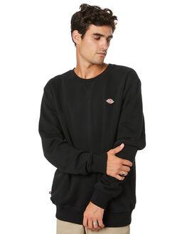 BLACK MENS CLOTHING DICKIES JUMPERS - K1200302BK