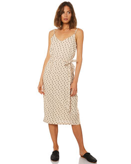 NATURAL SPOT WOMENS CLOTHING MINKPINK DRESSES - MP1804455NAT