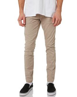 KHAKI MENS CLOTHING DR DENIM PANTS - 1920104-699