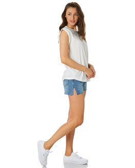 CLASSIC MID WOMENS CLOTHING C&M CAMILLA AND MARC SHORTS - CMD8181MID
