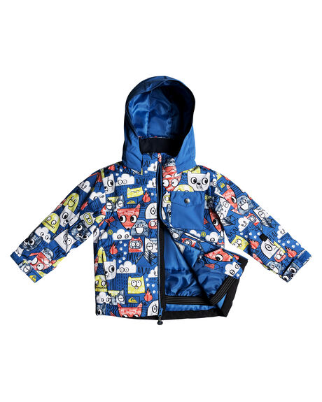 DAPHNE BLUE ANIMAL BOARDSPORTS SNOW QUIKSILVER TODDLER BOYS - EQKTJ03009BQC1