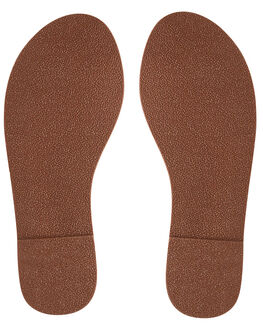 BROWN WOMENS FOOTWEAR ROXY FASHION SANDALS - ARJL200654-BRN