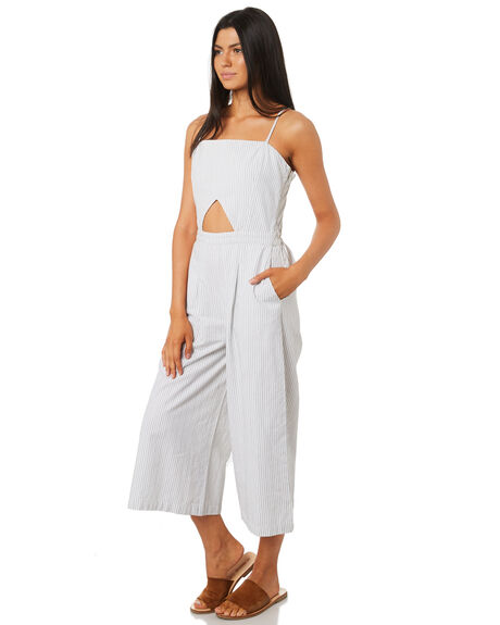 WHITE WOMENS CLOTHING ELEMENT PLAYSUITS + OVERALLS - 284876WHT