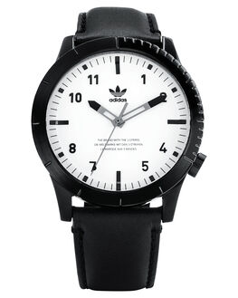 BLACK WHITE MENS ACCESSORIES ADIDAS WATCHES - Z06-005-00BLKWH