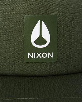 DARK OLIVE MENS ACCESSORIES NIXON HEADWEAR - C28781960