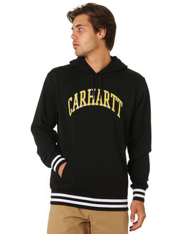 BLACK MENS CLOTHING CARHARTT JUMPERS - I02641189