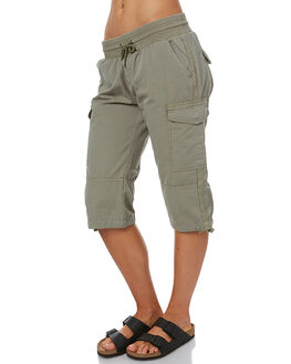 KHAKI WOMENS CLOTHING SWELL SHORTS - S8172231KHAK