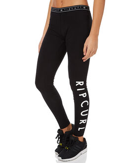 BLACK WOMENS CLOTHING RIP CURL ACTIVEWEAR - GPACN10090