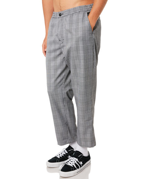 PLAID MENS CLOTHING STUSSY PANTS - ST095618PLD