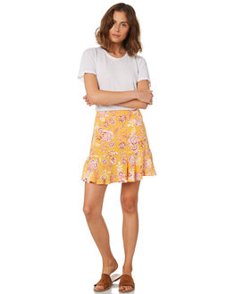 SUMMER FLORAL PRINT WOMENS CLOTHING ALL ABOUT EVE SKIRTS - 6423061PRNT