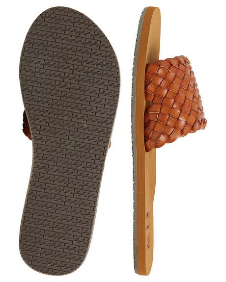 TAN WOMENS FOOTWEAR BILLABONG FASHION SANDALS - BB-6607806-TAN