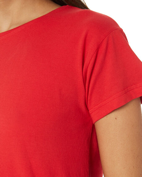RED OUTLET WOMENS SILENT THEORY TEES - 6085027RED