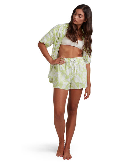 LIME WOMENS CLOTHING BILLABONG SHORTS - BB-6517358-LME