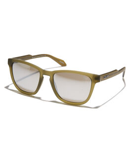 OLIVE SILVER MENS ACCESSORIES QUAY EYEWEAR SUNGLASSES - QM-000313-OLVSL