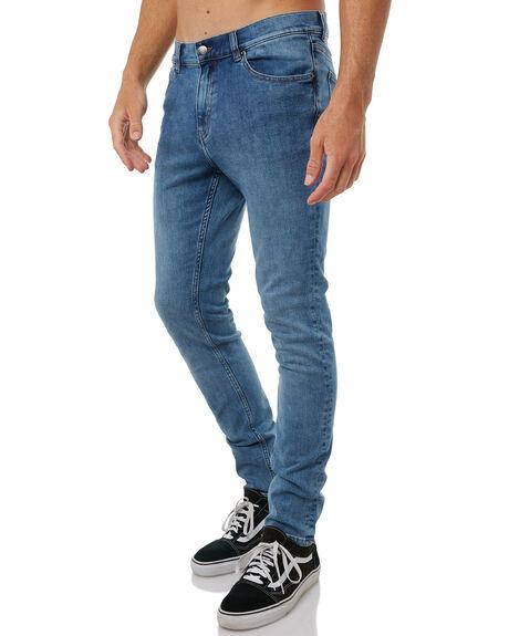 FAIR BLUE MENS CLOTHING CHEAP MONDAY JEANS - 0500626FAIRB