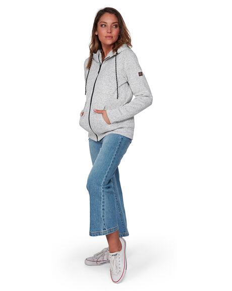 GREY HEATHER WOMENS CLOTHING BILLABONG JUMPERS - BB-6595734-GEH