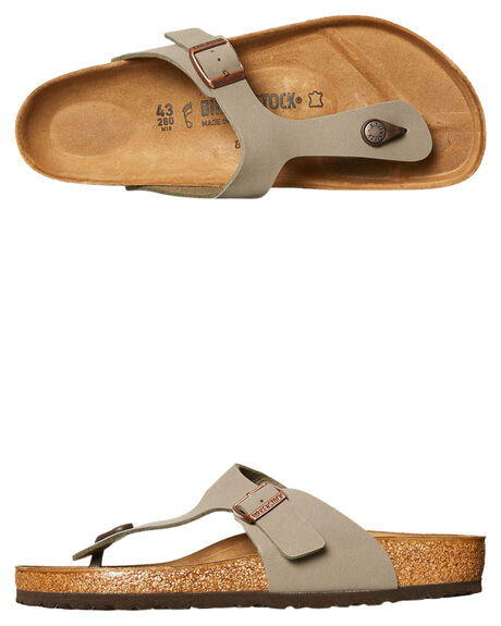 STONE WOMENS FOOTWEAR BIRKENSTOCK FASHION SANDALS - 043391WSTN