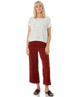 STAR WHITE WOMENS CLOTHING VOLCOM FASHION TOPS - B3541975SWH