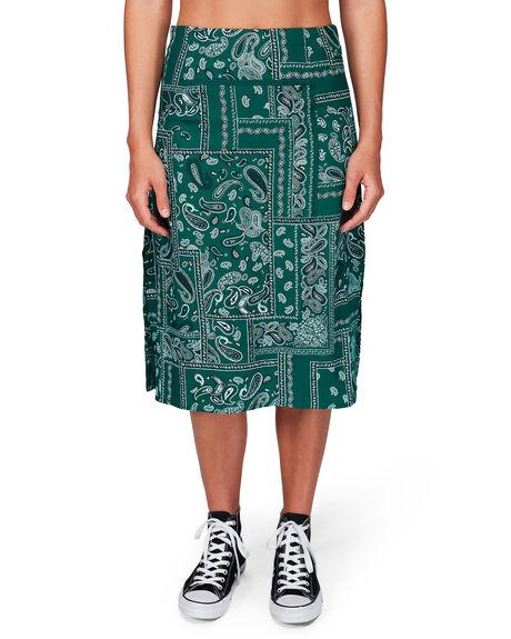 EVERGREEN WOMENS CLOTHING RVCA SKIRTS - RV-R292831-E22