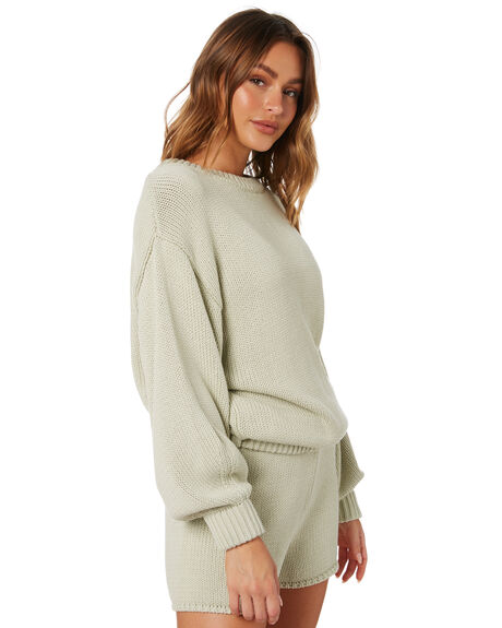 COOL SAGE WOMENS CLOTHING ZULU AND ZEPHYR KNITS + CARDIGANS - ZZ3435CSGE