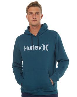 SPACE BLUE MENS CLOTHING HURLEY JUMPERS - MFT00078804JD