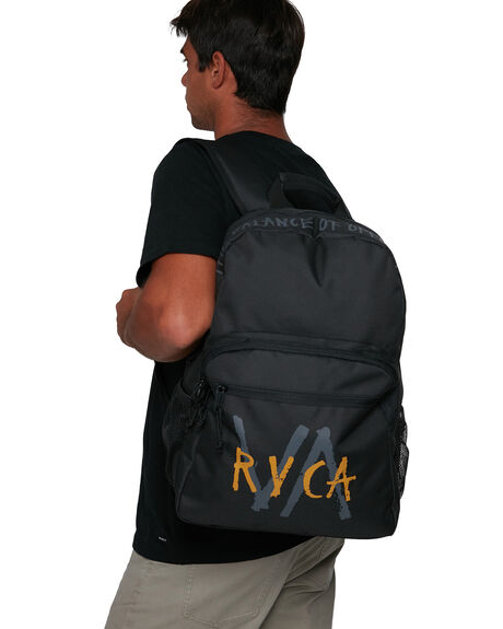 BLACK MENS ACCESSORIES RVCA BAGS + BACKPACKS - RV-R105451-BLK