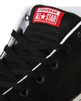 BLACK MENS FOOTWEAR CONVERSE SNEAKERS - 163404BL