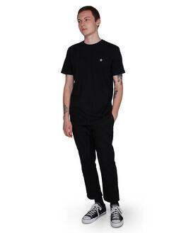 FLINT BLACK MENS CLOTHING ELEMENT TEES - EL-107004-IFL