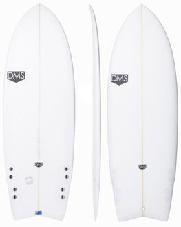 CLEAR BOARDSPORTS SURF DMS PERFORMANCE - SPOOKY_TOOTHCLR