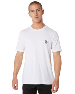 WHITE MENS CLOTHING BARNEY COOLS TEES - 150-CC1IWHT