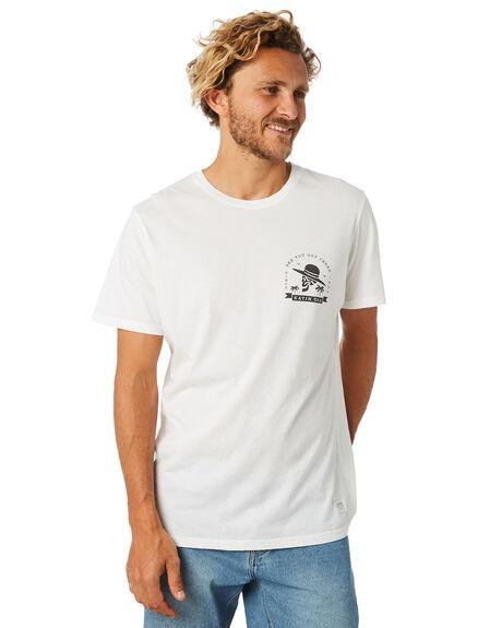 WHITE MENS CLOTHING KATIN TEES - TSBRO01WHT