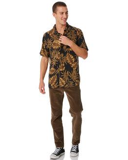 BLACK MENS CLOTHING SWELL SHIRTS - S5184185BLACK