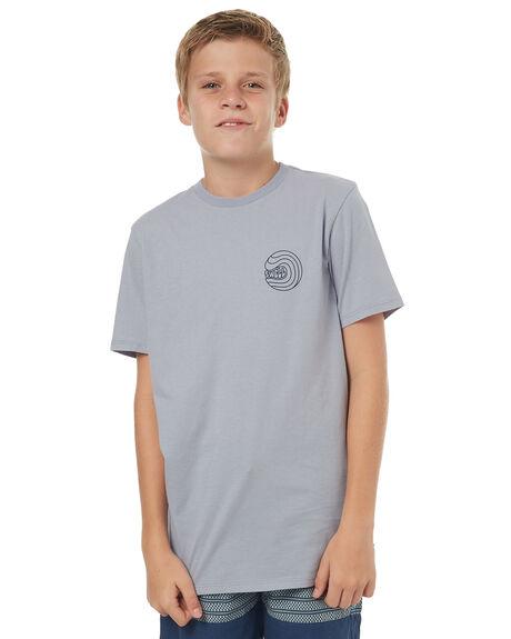 ARCTIC BLUE KIDS BOYS SWELL TEES - S3171006ARTBL