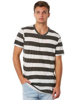 WHITE BLACK MENS CLOTHING THE PEOPLE VS TEES - SS18001-WBWBLK