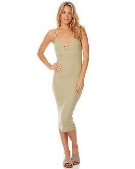OLIVE WOMENS CLOTHING MINKPINK DRESSES - MB1607052OLV