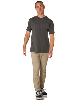 CHARCOAL MENS CLOTHING AS COLOUR TEES - 5026CHARC