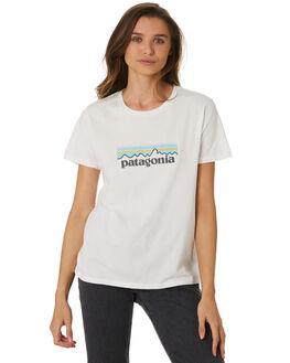 WHITE WOMENS CLOTHING PATAGONIA TEES - 39576WHI