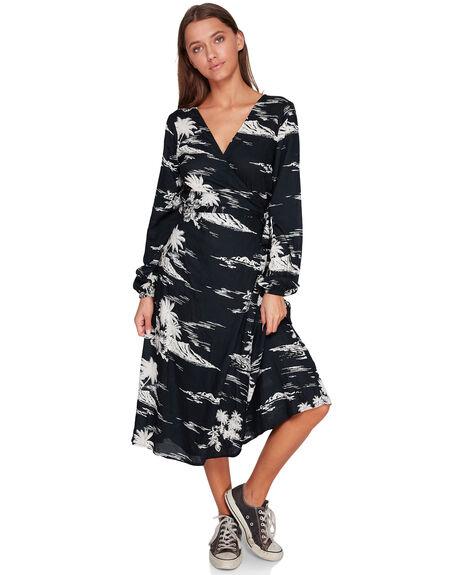 BLACK SANDS WOMENS CLOTHING BILLABONG DRESSES - BB-6591473-BSD