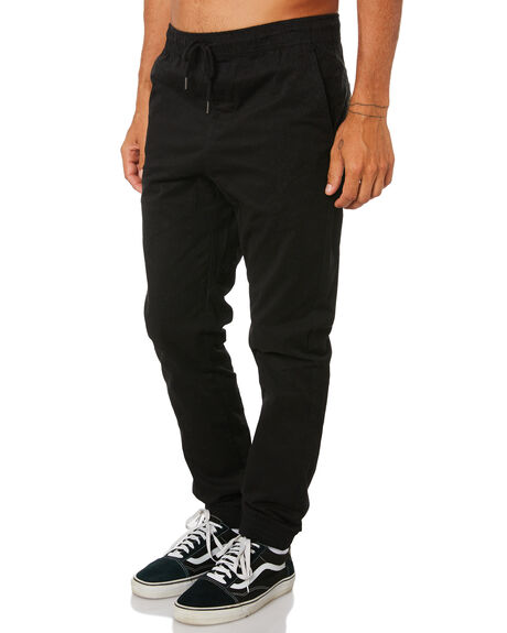 BLACK MENS CLOTHING SWELL PANTS - S5161193BLK