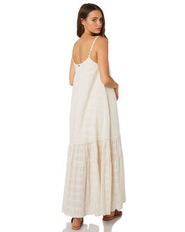 CREAM TEXTURE WOMENS CLOTHING SAINT HELENA DRESSES - SHS19222CRM