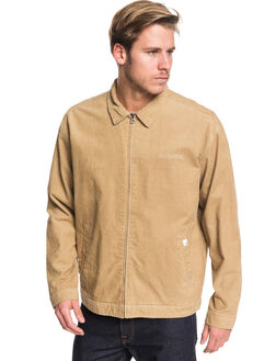 PLAGE MENS CLOTHING QUIKSILVER JACKETS - EQYJK03501-CKK0
